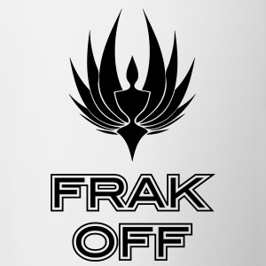 Frak Off BSG Bottles & Mugs - Coffee/Tea Mug
