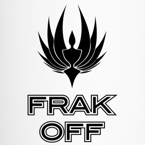 Frak Off BSG Bottles & Mugs - Travel Mug