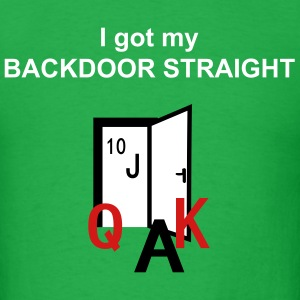 backdoor straight T-Shirts - Men's T-Shirt