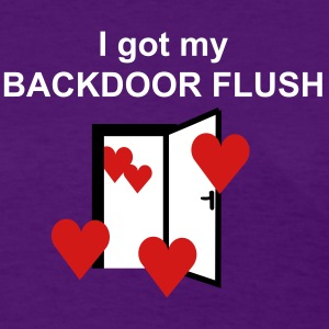 backdoor flush Women's T-Shirts - Women's T-Shirt