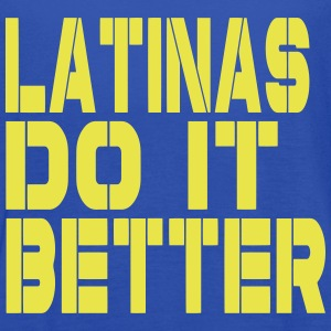 LATINAS DO IT BETTER Tanks - Women's Flowy Tank Top by Bella