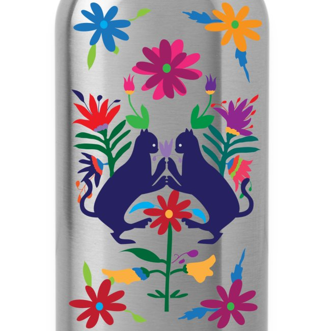 Otomi Cats Water Bottle