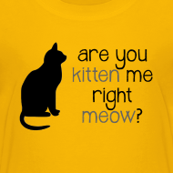 Design ~ Right Meow Toddler Tee