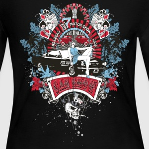 Pin Up Girl - Car Show 2 Long Sleeve Shirts - Women's Long Sleeve Jersey T-Shirt