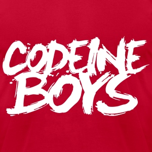 Codeine Boys T-Shirts - Men's T-Shirt by American Apparel