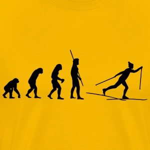 Evolution Ski Cross Shirt - Men's Premium T-Shirt