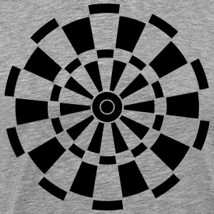 Dartboard Shirt - Men's Premium T-Shirt