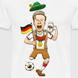 Germany is Four-time World Champion T-Shirts - Men's Premium T-Shirt