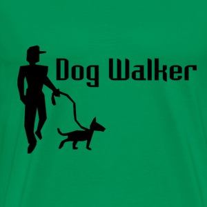 Dog Walker Men's Premium T-Shirt - Men's Premium T-Shirt