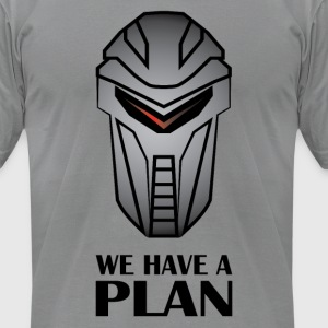 We Have A Plan Cylon T-Shirts - Men's T-Shirt by American Apparel