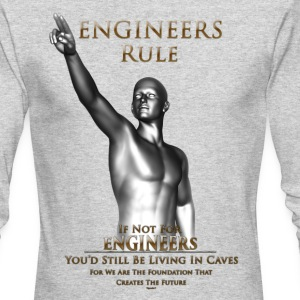 Engineers Rule ISO Mens Long Sleeve - Men's Long Sleeve T-Shirt by Next Level