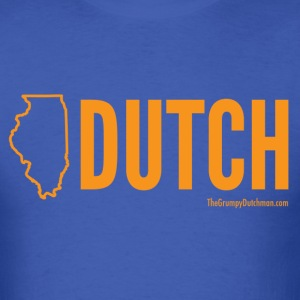 Illinois Dutch (orange) - Men's T-Shirt