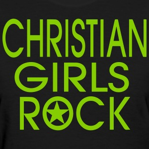 CHRISTIAN GIRLS ROCK - Women's T-Shirt