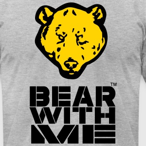 BEAR WITH ME - Men's T-Shirt by American Apparel