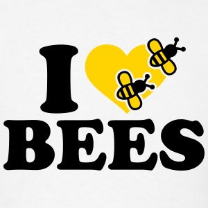 I love Bees T-Shirts - Men's T-Shirt