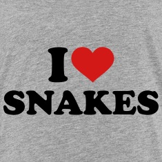 I love snakes Kids' Shirts