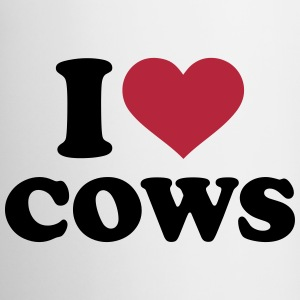 I love Cows Bottles & Mugs - Coffee/Tea Mug