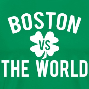 Boston vs. The World SPD T-Shirts - Men's Premium T-Shirt