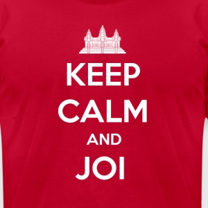 Men's Keep Calm and Joi T-Shirt - Men's T-Shirt by American Apparel