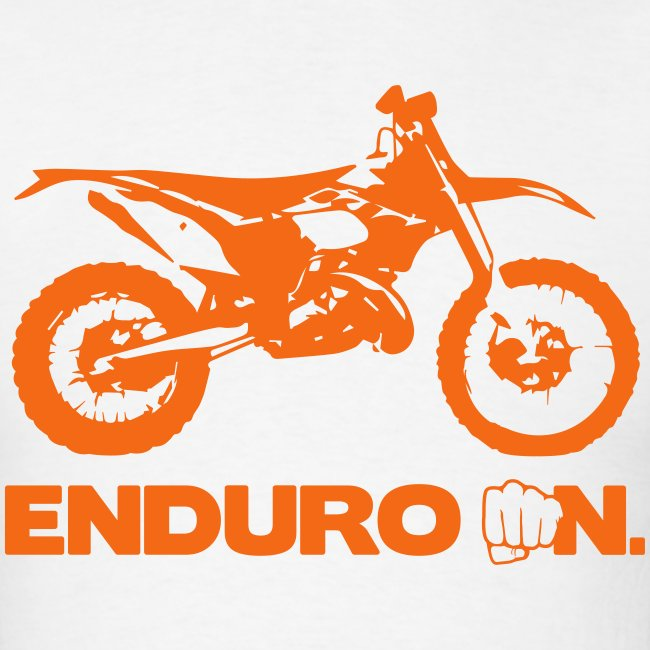 "2Stroke ""Enduro On"" - Orange Logo"