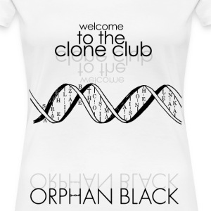 welcome to the clone club - orphan black - Women's Premium T-Shirt