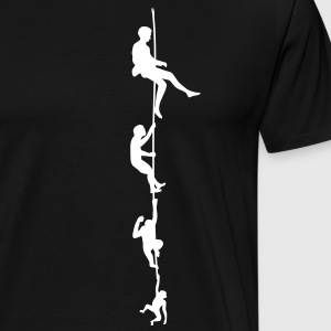 Evolution Climbing Rope Shirt - Men's Premium T-Shirt
