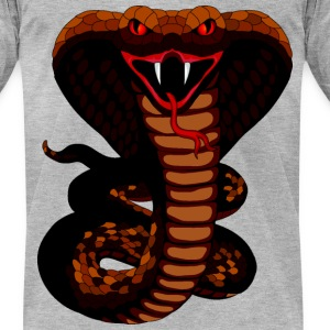 Snake - Men's T-Shirt by American Apparel