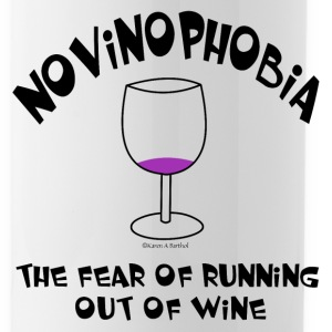 Novinophobia Glass Bottles & Mugs - Water Bottle