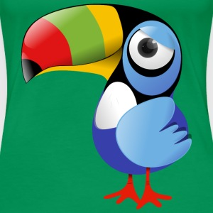 Toucan - Women's Premium T-Shirt