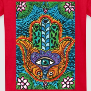 Hamsa kid's tee - Kids' T-Shirt