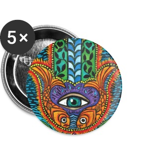 Hamsa button - Large Buttons