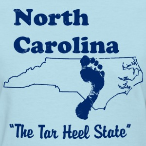 north carolina tar heel state women's t shirt - Women's T-Shirt