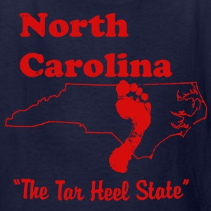north carolina tar heel state kid's shirt - Kids' T-Shirt