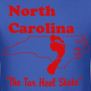 north carolina tar heel state men's t shirt - Men's T-Shirt