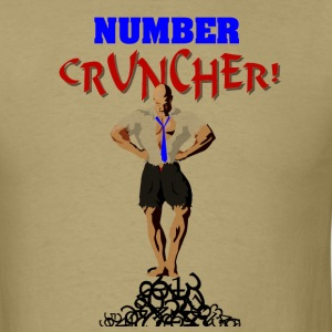 The Number Cruncher Accountant T-Shirts - Men's T-Shirt