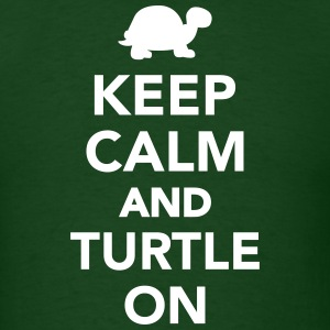 Keep calm and turtle on T-Shirts - Men's T-Shirt
