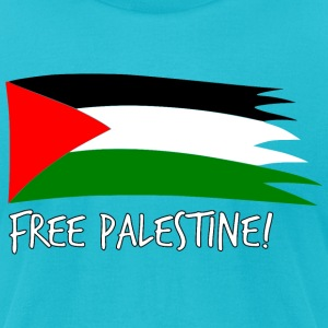 Free Palestine T-Shirts - Men's T-Shirt by American Apparel