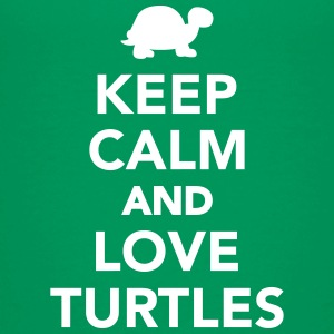 Keep calm and love Turtles Kids' Shirts - Kids' Premium T-Shirt