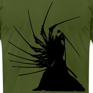 Samurai effects - Men's T-Shirt by American Apparel