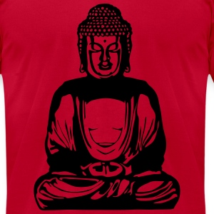 Buddha - Men's T-Shirt by American Apparel