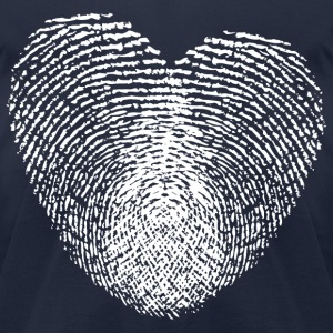 Fingerprints T-Shirts - Men's T-Shirt by American Apparel