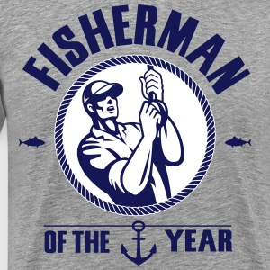 Fisherman of the year T-Shirts - Men's Premium T-Shirt