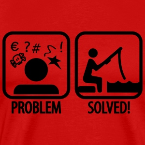 Fishing: Problem - Solved T-Shirts - Men's Premium T-Shirt