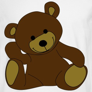 Teddy, Teddy Bear, stuffed animal Long Sleeve Shirts - Men's Long Sleeve T-Shirt