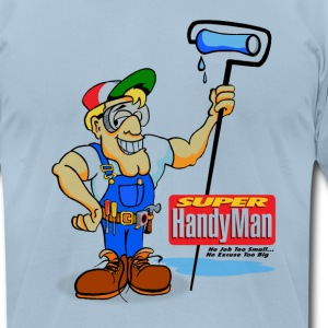 Handyman T-Shirts - Men's T-Shirt by American Apparel