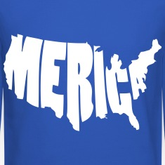 Merica United States USA Long Sleeve Shirts