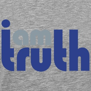 I am truth - Men's Premium T-Shirt