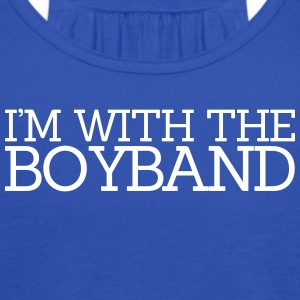 I'm With The Boyband Tanks - Women's Flowy Tank Top by Bella