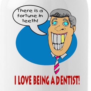 I Love Being A Dentist Bottles & Mugs - Water Bottle
