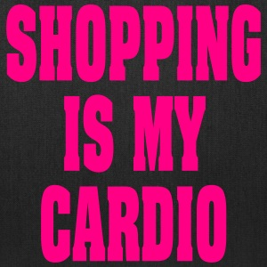 COUPONING IS MY CARDIO | FUNNY SHOPPING TOTE BAG - Tote Bag